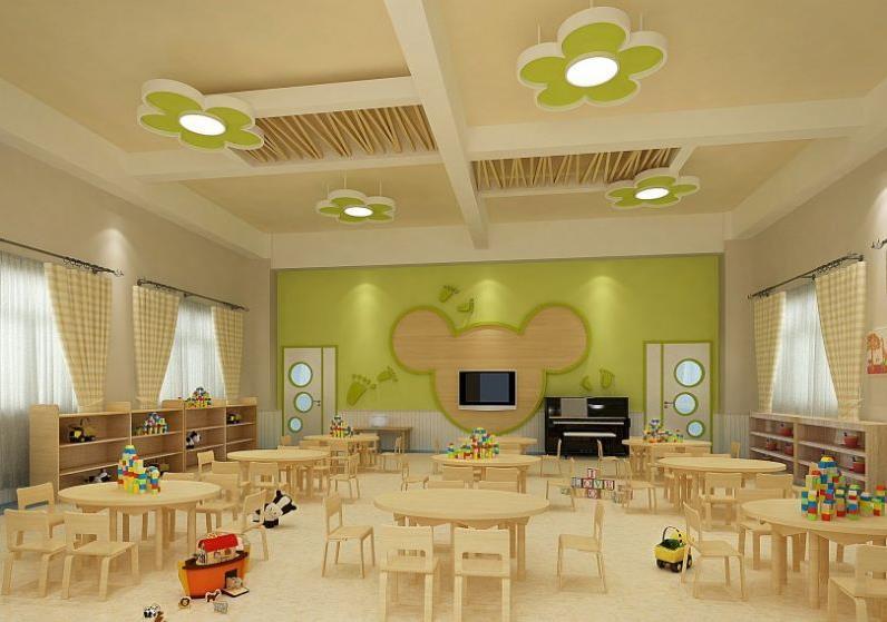 翰林幼儿园装修效果图